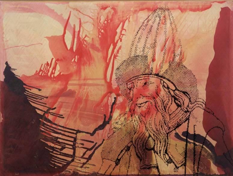 'Hermes Trismegistus' (1995) by Sigmar Polke.