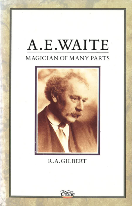 AE Waite Magician of Many Parts - cover