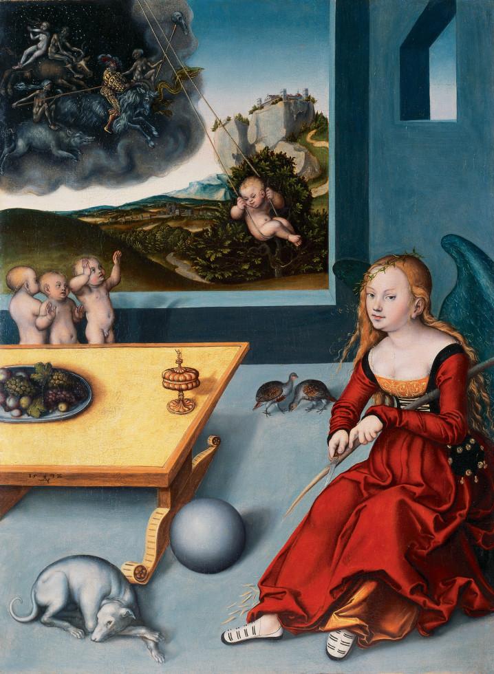 'Melancholia' by Cranach (1532)