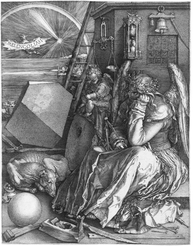 'Melancholia' by Dürer (1514).