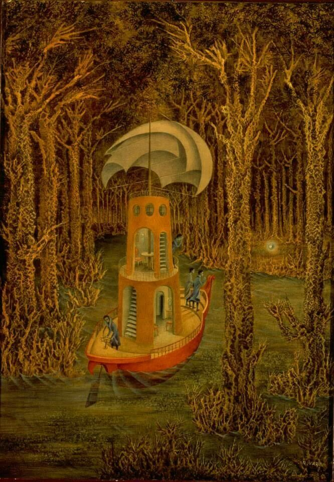 'Hallazgo' by Remedios Varo, 1956.