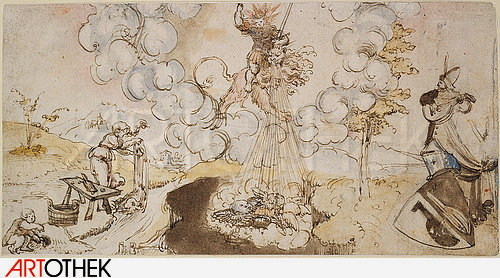 'Allegory of Alchemy' from Cranach's workshop (first half 16th century).