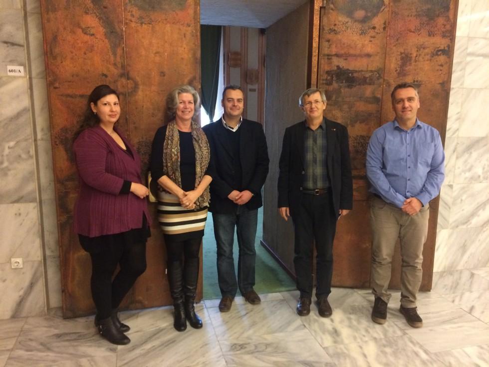 October 2016: János Kaldos, Endre Hamvas, Róbert Kutsera, Attila Beko, and Magdolna Baricz are preparing!
